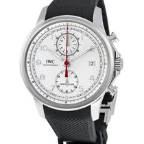 IWC IW390502 Portuguese Yacht Club Chronograph - Steel on...