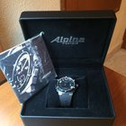 Alpina Avalanche Extreme Black Automatic 48mm