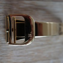 Jaeger-LeCoultre 16mm YELLOW GOLD Folding Clasp faltschliesse...