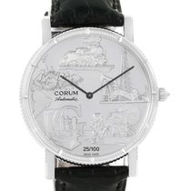 Corum Celebrates Second Millennium 18k White Gold Automatic...