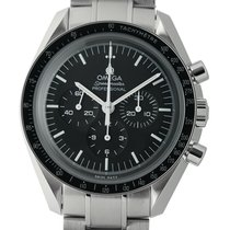 Omega Speedmaster Moonwatch Stainless Steel 42mm Solid Case...