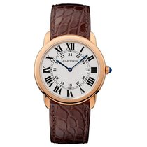 Cartier Ronde Quartz Ladies Watch Ref W6701008