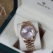 Rolex Presidential 36mm 18k Rose Day-date 18038 Original Pink...