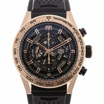 TAG Heuer Carrera Heuer 01 45 Chronograph Rose Gold