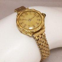 Omega Ladies Vintage 14k Karat Yellow Gold  Watch  W/ New...