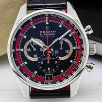 Zenith 03.2043.400/25.C703 El Primero Chronograph Black / Red...