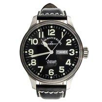 Zeno-Watch Basel OS Pilot Day Date 8554DD-A1 ETA 2836 Swiss...