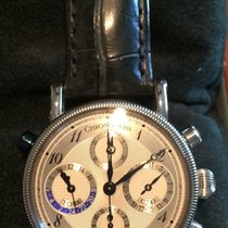 Chronoswiss Tora Chronograph Box/papers Ch-743 Dual Time Gmt