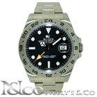 Rolex Explorer II Stainless Steel Black Dial 42MM