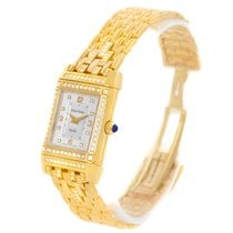 Jaeger-LeCoultre Reverso 18k Yellow Gold Diamond Ladies Watch...
