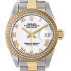 Rolex Datejust Ladies 2-Tone Watch 79173