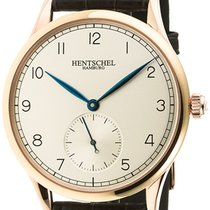 Hentschel Hamburg Commodore Werk 1 Rose Gold / Bronze