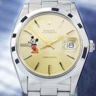 Rolex Oysterdate Precision 6694 Manual 1977 Mickey Stainless...