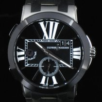 Ulysse Nardin Dual Time Executive Ceramic Steel Full Set