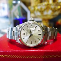 Rolex Oyster Perpetual Date 6517 Stainless Steel Watch Circa 1966