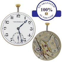 Patek Philippe 20J Manual Wind Porcelain Pocket Watch Movement