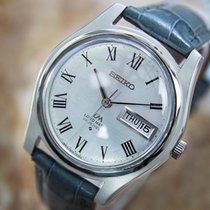 Seiko Lm 25 Jewels Automatic 1970s Japanese Stainless Steel...