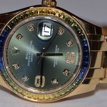 Rolex Datejust Special Edition Pearlmaster 18K Solid Gold