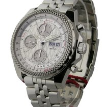 Breitling Bentley GT Chronograph Silver Storm Dial