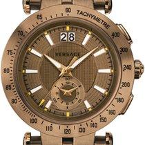 Versace Men's V-race Sport Watch  Ip Bronze Stainless...