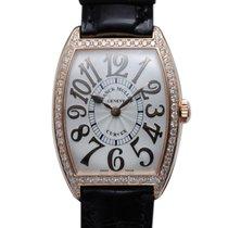 Franck Muller CINTRÉE CURVEX RELIEF 18K Pink Gold Diamond 7502...