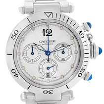 Cartier Pasha Seatimer Chronograph Steel Mens Watch W31030h3