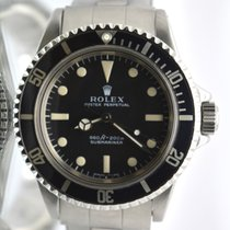 Rolex Submariner 5513 Dial Untouched original 1972 Fat font bezel
