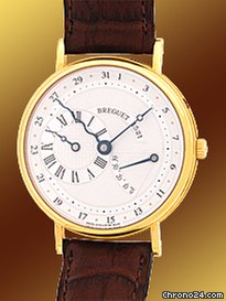 Breguet Classique Serpetine Power Reserve Strapwatch
