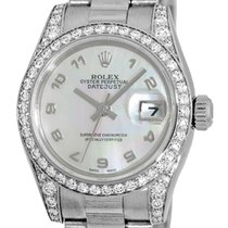 "Rolex Diamond ""Datejust President""."