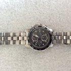 Seiko Chronograph 100M Silver Tone Tachymeter