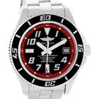 Breitling Aeromarine Superocean 42 Abyss Red Steel Date Watch...