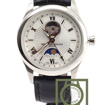 Frederique Constant Maxime Moonphase Silver dial 40mm crocodil...