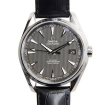 Omega Seamaster Stainless Steel Dark Grey Automatic 231.13.42....