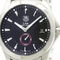 TAG Heuer Polished Tag Heuer Link Tiger Woods Ltd Edition...