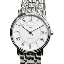 Longines Presence Stainless Steel White Automatic L4.821.4.11.6
