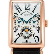Franck Muller Long Island Master Banker 18K Rose Gold Men'...
