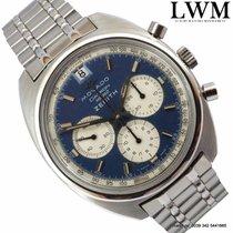 Movado Zenith Datron HS360 Chronograph Sub Sea blue dial 1970's