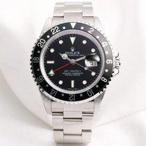 Rolex Rare Rolex GMT-MASTER II 16710T Stick Dial Calibre 3186