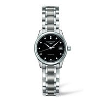 Longines Master Collection Black Dial Stainless Steel Automati...