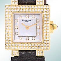 "Chaumet ""Diamond Style de Chaumet"" Fashion Strapwatch."