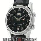 Girard Perregaux Traveller II Alarm GMT Steel 40mm Black Dial...