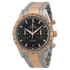 Omega Speedmaster Black Dial Chronograph Steel and 18kt Rose...