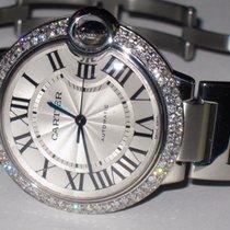 Cartier Ballon Bleu Midsize 36mm Automatic Diamonds