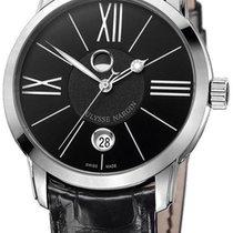 Ulysse Nardin Classico Luna Automatic Steel Mens Watch...