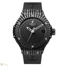 Hublot Big Bang Caviar Ceramic Rubber Automatic Men`s Watch