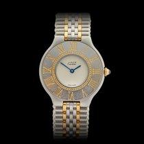 Cartier Must de 21 Stainless Steel/18k Yellow Gold Ladies 1340