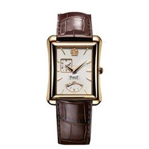 Piaget G0A33070 Emperador in Rose Gold - on Brown Leather...