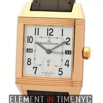 Jaeger-LeCoultre Reverso Collection Squadra Hometime 18k Rose...