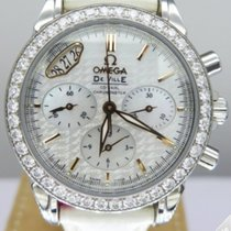 Omega De Ville Co-Axial Ladies Chrono Diamonds - 422.18.35.50....