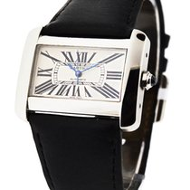 Cartier W6300755 Tank Divan Large Size Automatic - Steel on...